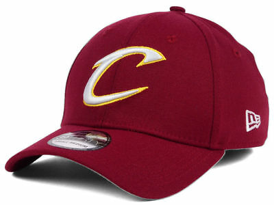 01a23637794 New! Cleveland Cavaliers New Era Team Classic 39THIRTY Flex Hat Cap - Size