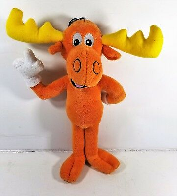 The Adventures of Rocky & Bullwinkle Plush Stuffed Toy Vintage 13""