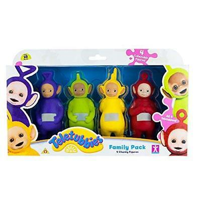 New Teletubbies 4 Chunky Figures Family Pack