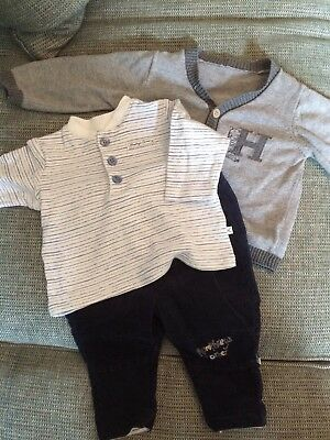 Mothercare Boys humphreys Corner 3 Piece Outfit - 3-6 Months