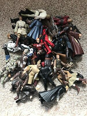 Lot Of Loose Star Wars Figures. Ideal For Customs/kits/ dioramas etc