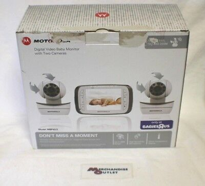 Motorola Digital Video Baby Monitor with Two Cameras - MBP43/2