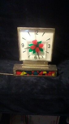 vintage four roses liquor clock