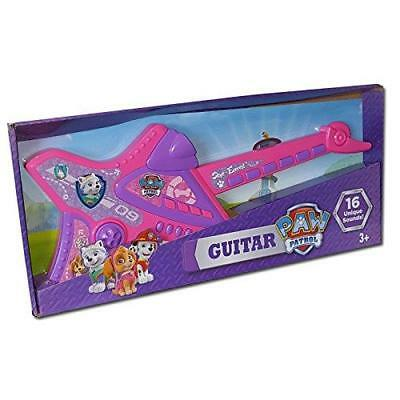 New Paw Patrol Electronic Musical Skye & Everest Girls Guitar With 16 Sounds