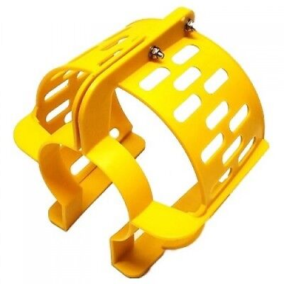 """Propeller Safety Guard 9"""" Yellow Fits 9.9 thru 20hp Boat Marine Surf Outboard"""