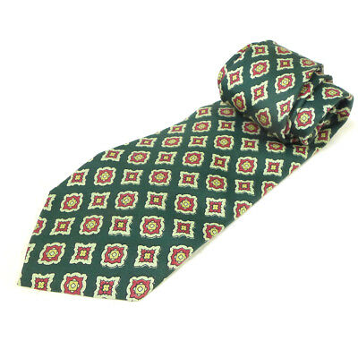 Vintage Brooks Brothers Makers All Silk Men's Green Neck Tie