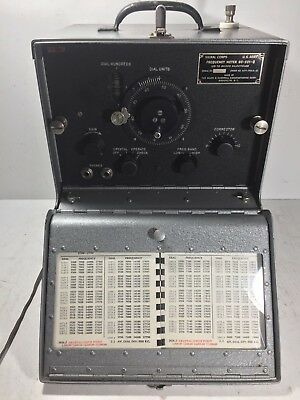 SIGNAL CORPS Frequency Meter BC-221-Q US ARMY