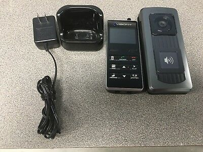 Optex iVision 2-Way WIRELESS Color Video Intercom 2.4Gz IVPDH