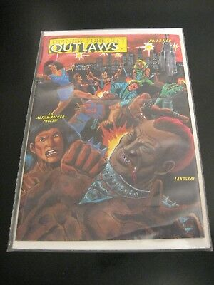 NEW YORK CITY OUTLAWS #1 (POSTER INCLUDED) 1984 **Crisp High Grade!** (VF+)