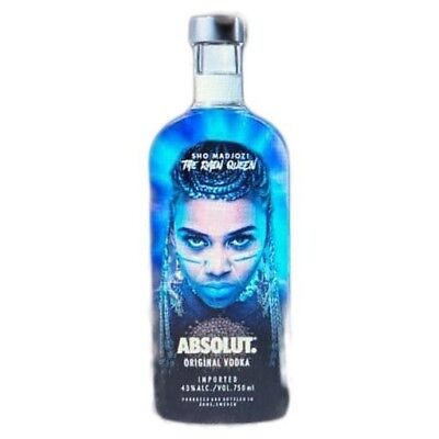 ABSOLUT VODKA SHO MADJOZI  (SOUTH AFRICA) THE RAIN QUEEN Limited Edition