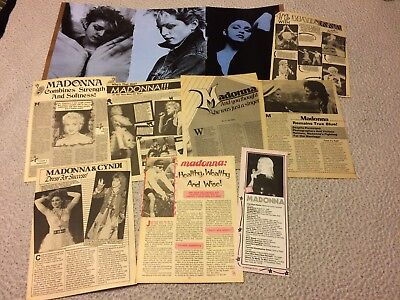 Madonna Magazine Clippings Cuttings Pinups Photos
