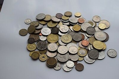 job lot collection of old world coins