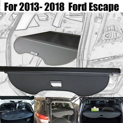 For 2013-2018 Ford Escape Luggage Tonneau Cargo Cover Security Trunk Shielding
