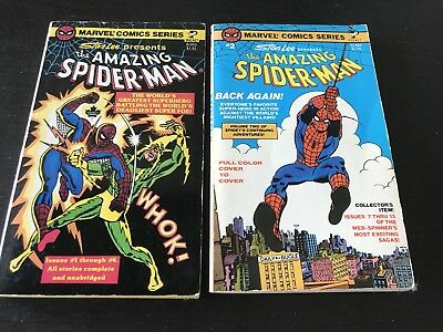 Stan Lee Presents The Amazing Spiderman Pocket Book Vol 1 And 2