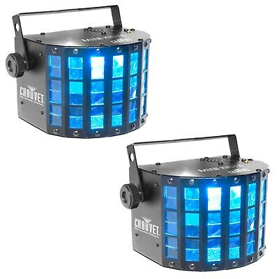 Chauvet DJ Mini Kinta IRC RBGW DMX Effect Lights (2 Pack)