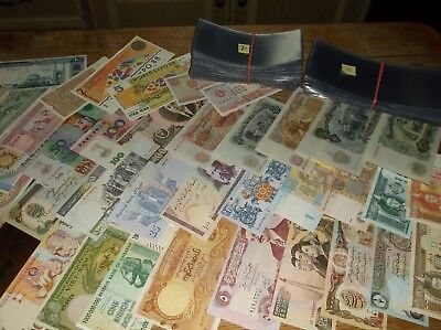 World Banknote Paper Money Currency Collection Lot of 41 ALL UNCIRCULATED