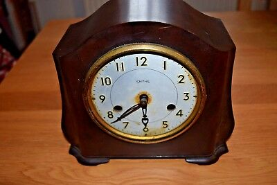 Smith Enfield Bakelite 1950s mantle clock Spares Repair (needs glass) shelf