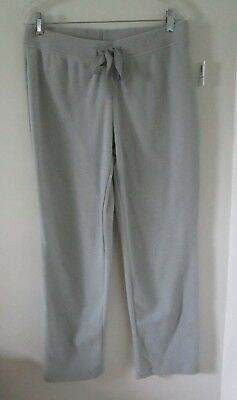 Old Navy Womens Fleece Pants Gray Drawstring Lounge Sleepwear Pajama Size M NWT