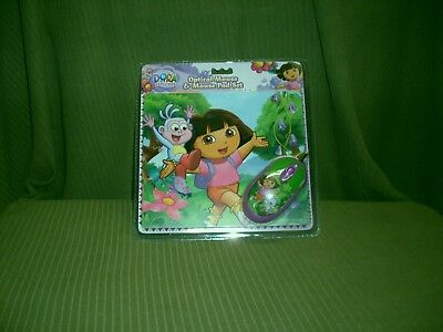 Sakar Dora the Explorer Optical Mouse & Mouse Pad Set New Sealed