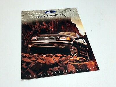2001 Ford Expedition Brochure