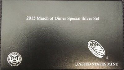 2015-W $1 Silver March of Dimes Set  (Proof, Reverse Proof and Medal)
