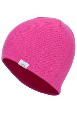 TRESSPASS  BNWT Hi Vis Luminous Bright Neon PINK Woolly RUNNING BEANIE
