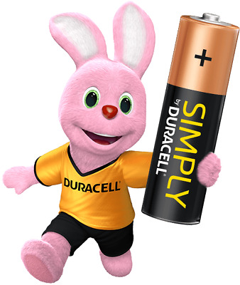 48 x Duracell Simply AAA 1.5v Batteries Pack Alkaline LR03 MN2400 Lasting Power