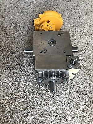 Tandler SP2 speed modulation 90 degree gearbox with pneumatic actuator