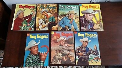 Roy Rogers 32-80 Lot of 14 - Average FN+