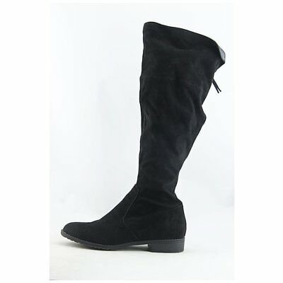 dbebd706504 UNISA WOMENS SUBRINA Fabric Almond Toe Knee High Fashion Boots ...