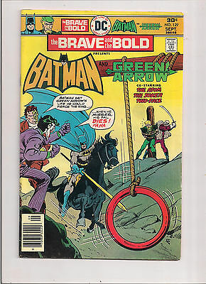 Dc Comics The Brave And The Bold #129 Sept 1976 Fn Batman And Green Arrow