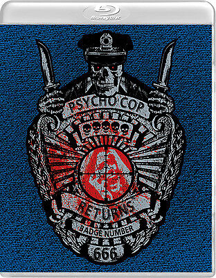 Psycho Cop Returns (New Blu-ray/DVD direct from Vinegar Syndrome)