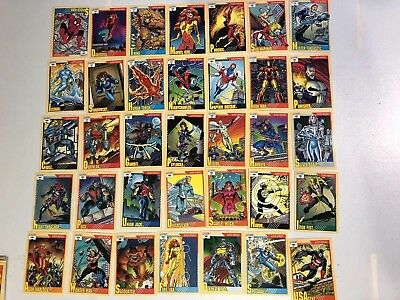 1991 Impel Marvel Universe Series 2 Set of 162 Cards