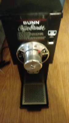 Bunn G1 HD 1 lb. Black Retail Shop Bulk Coffee Grinder 120V