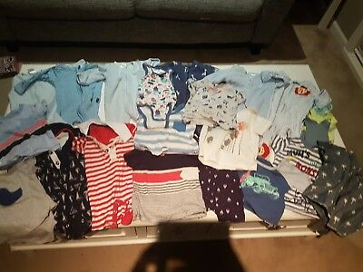 Baby Boy Clothing Bundle 000 and 3 - 6 months