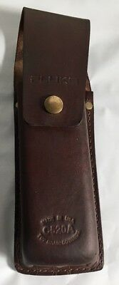 Fluke C520A Leather Tester Case for T3 and T5 Testers used