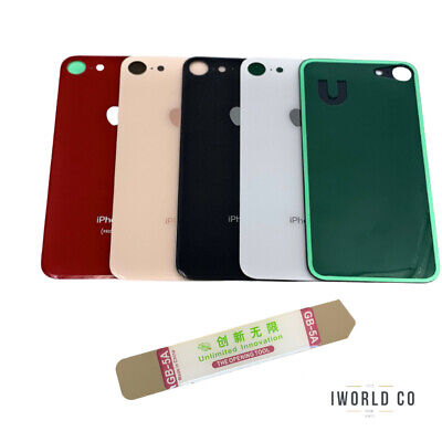 Battery Glass Cover Housing Back Door Replacement For iPhone 8 with TOOLS Kit