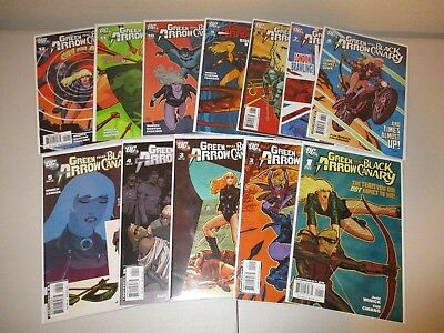 Green Arrow and Black Canary #1-12  VF/NM  (Lot of 12, DC 2007)    1 2 3 4 5 6 7