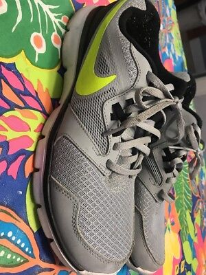 a4349ad128ac NIKE FLEX EXPERIENCE RN 4 - Mens SZ 9.0 M GRAY-BLUE Running Shoes ...