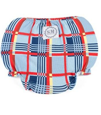 """Brand New Mickey Plaid Boys Diaper Cover """"One Size Fits Most"""" Stud Muffin"""