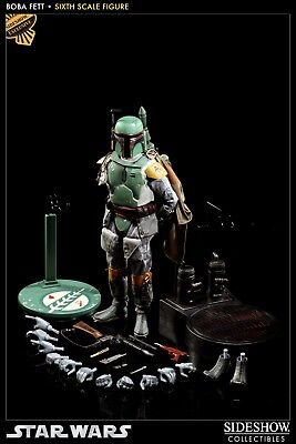 Sideshow Exclusive Boba Fett Ep V ESB Scum and Villainy Version 1:6 Scale #21281