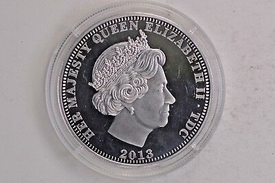 2013 United Kingdom Silver Crown Prince William in the RAF .99c NO RESERVE