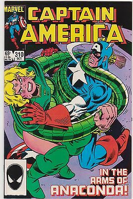Captain America #310 -- First Appearance Of Cottonmouth & Serpent Society