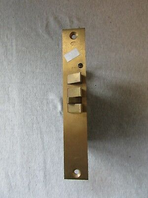 VTG Antique Brass Door Lock Mortise Cylinder Corbin 8551 234 112L Commercial