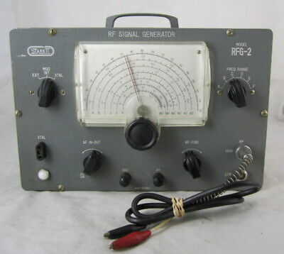 Vintage Starkit RFG-2 RF Signal Generator Partially Tested