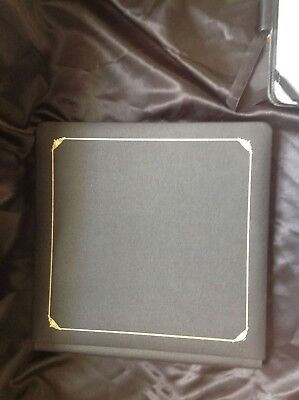 Creative Memories 12 X 12 Black Album With Gold Detail Cover Includes Pages