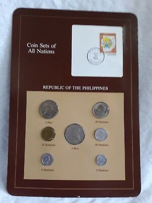 Coin Sets of All Nations Franklin Mint REPUBLIC OF THE PHILIPPINES  uncirculated