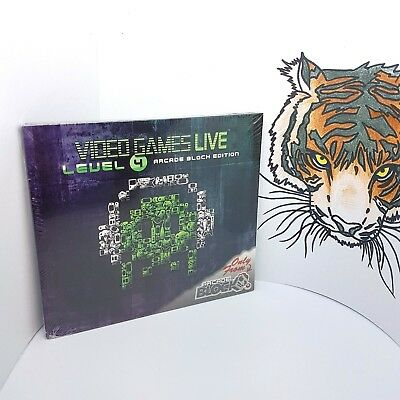 ARCADE BLOCK Exclusive CD Video Games Live Level 4 Factory Sealed Brand New