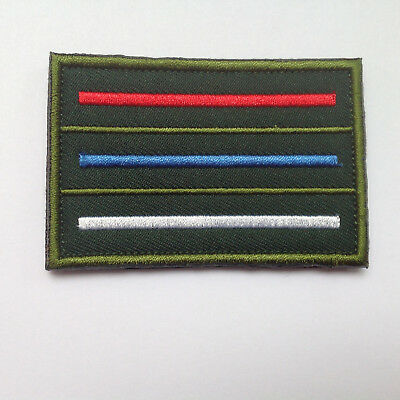 RUSSIA Flag ARMY MORALE TACTICAL MILITARY BADGE PATCH