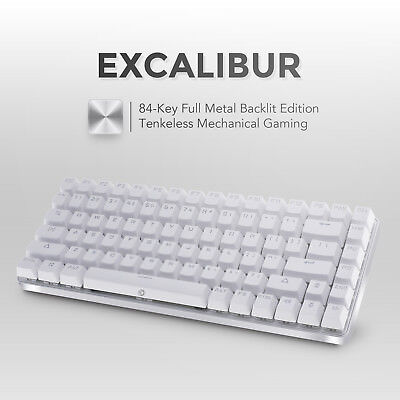 drevo excalibur tenkeyless 84 key metal mechanical gaming keyboard